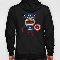 Screaming Captain America Hoody