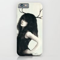 iPhone & iPod Case featuring Zooey by J U M P S I C K ▼▲