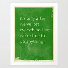 True Freedom Art Print