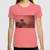 Punishment Womens Fitted Tee Pomegranate SMALL