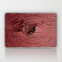 Knotty Red Laptop & iPad Skin