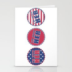 I'm With Her, Hillary Clinton 2016 Stationery Cards
