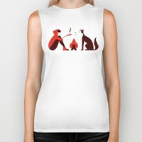Little Red and Big Bad Biker Tank