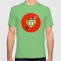 Gryffindor House Crest Icon Mens Fitted Tee Grass SMALL