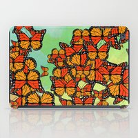 Monarch butterflies iPad Case