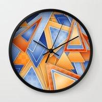 GeOmEtRiCity Wall Clock
