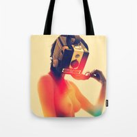SEX ON TV - LUNAR by ZZGLAM Tote Bag