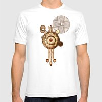 hypnotism Mens Fitted Tee White SMALL