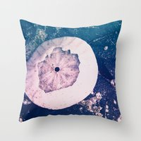 Dreamy Beach Throw Pillow