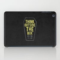 Think Outside The Box, W… iPad Case