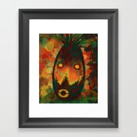 Spirit Mask Framed Art Print