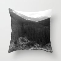 Lets Get Lost, The Valle… Throw Pillow
