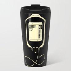 Coffee Transfusion - Black Travel Mug