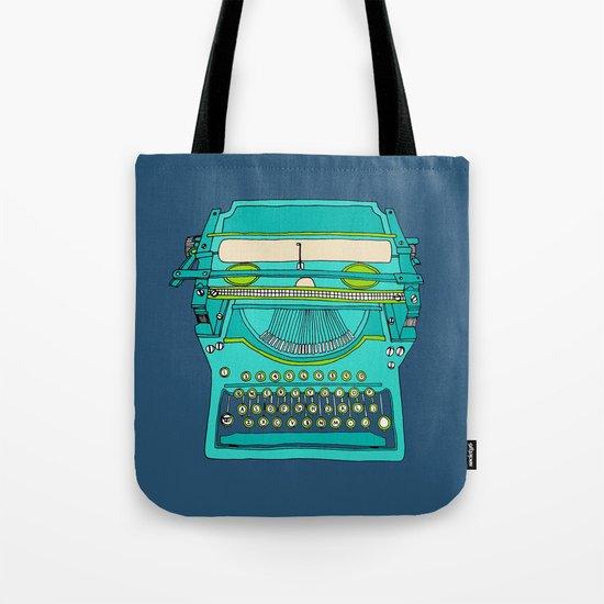 Typewriter Number Five Tote Bag