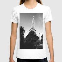 eiffel T-shirts featuring Eiffel by Melynda Nichole