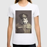 Sgt. Stormley  Womens Fitted Tee Ash Grey SMALL