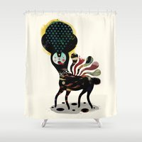 Duality - Muxxi X Alvaro Tapia Shower Curtain