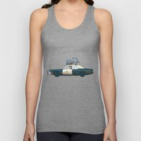The Blues Brothers Bluesmobile 1/3 Unisex Tank Top