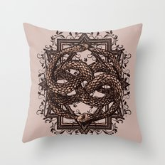 Life Is A NeverEnding Story Throw Pillow