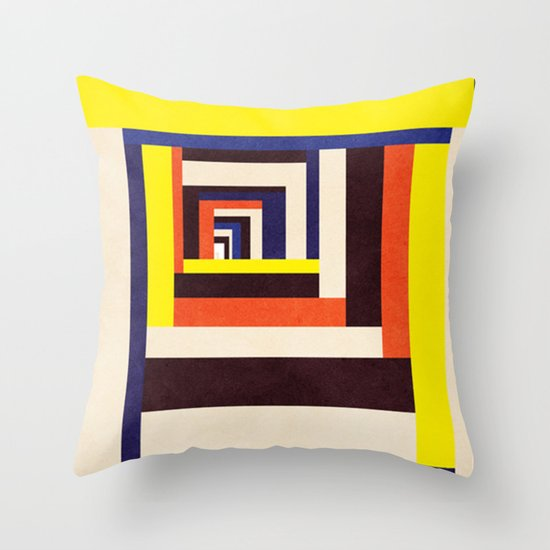 Out Throw Pillow