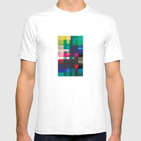 Circleton Mens Fitted Tee White SMALL