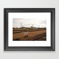 Railway Framed Art Print