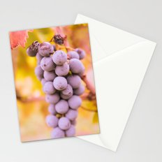 In vineyard Stationery Cards