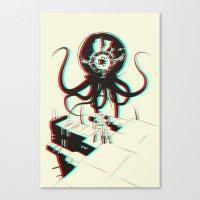 3D Adventure Canvas Print
