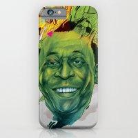 iPhone & iPod Case featuring Rey Pele by RamonN90