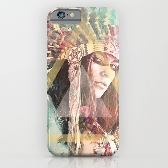 IND Girl iPhone & iPod Case