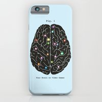 Your Brain On Video Games iPhone 6 Slim Case