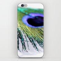 Peacock II iPhone & iPod Skin