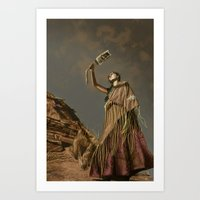 Prayers for Uncle Art Print