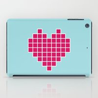 Pixelated Heart iPad Case
