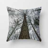 How High Throw Pillow