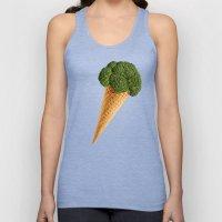 Broccoli Ice Cream Unisex Tank Top