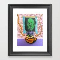 Dial M For Mekon  Framed Art Print