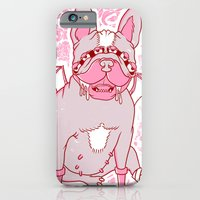 iPhone & iPod Case featuring Frenchy by Doyle Raw Meat