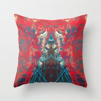 FX#505 - Kryptonian Oblo… Throw Pillow