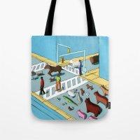 Urban Animals Tote Bag
