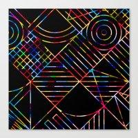 Rainbow Whackadoodle Canvas Print