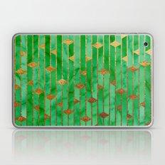 Green Marble Skyscrapers Laptop & iPad Skin