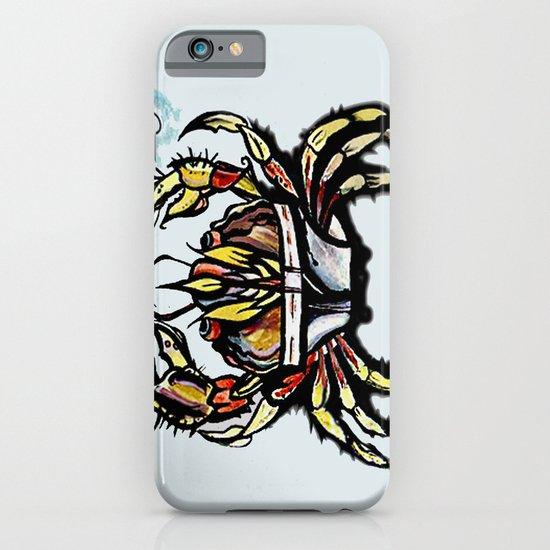 BEWARE :crabs in underwear  iPhone & iPod Case