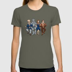 Wizard Of Who Womens Fitted Tee Lieutenant SMALL