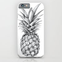 iPhone Cases featuring Pineapple by Sibling & Co.