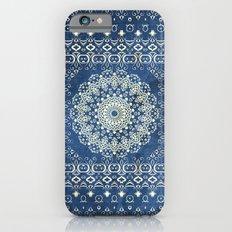 Old Bookshop Magic Mandala in Blue iPhone 6 Slim Case