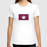 phoenix city flag united states of america Womens Fitted Tee White SMALL
