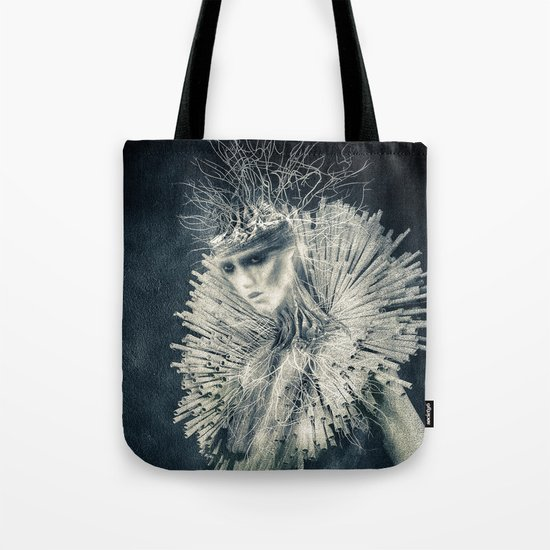 Dark Portrait III  (colour option) Tote Bag