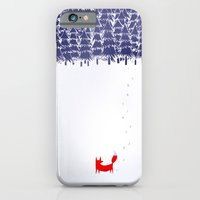 funny iPhone & iPod Cases featuring Alone in the forest by Robert Farkas