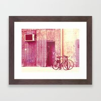 Pedal Framed Art Print